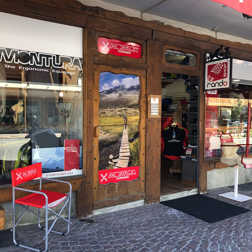 Montura Corner Crans-Montana