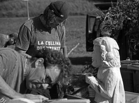 """Terzo simposio degli scultori del legno alla """"Collina di Lorenzo"""""""