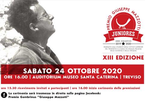 """Premio """"Mazzotti"""" Juniores, a Treviso la cerimonia di premiazione"""