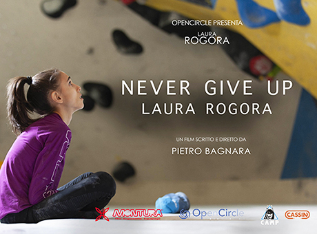 NEVER GIVE UP LAURA ROGORA