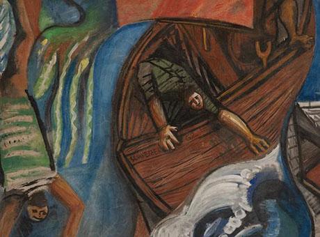 """""""Tempesta sul lago"""", il capolavoro di Riccardo Schweizer ritorna sul Garda"""